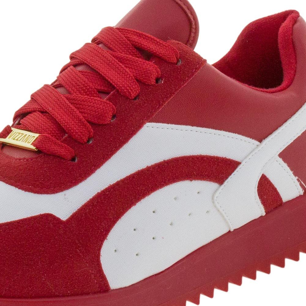a557c92e898 tênis feminino branco vermelho vizzano - 1234226. Carregando zoom.