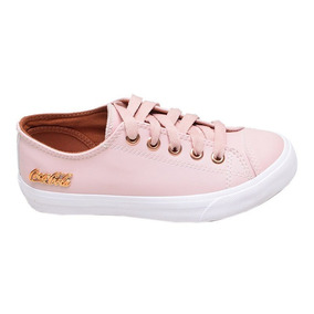 3b5313f75a Tênis Feminino Casual Basket Floater Low Coca Cola Rosa