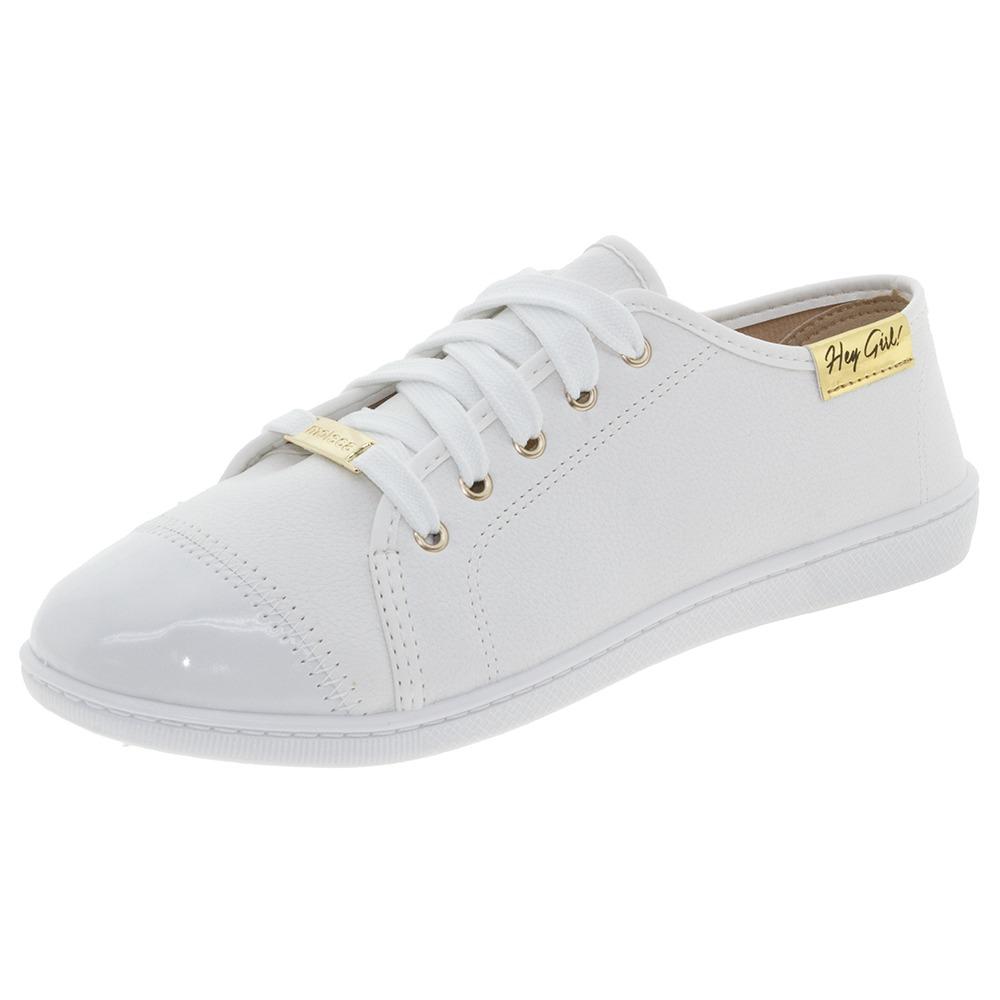 bb198230af tênis feminino casual branco moleca - 5605112. Carregando zoom.