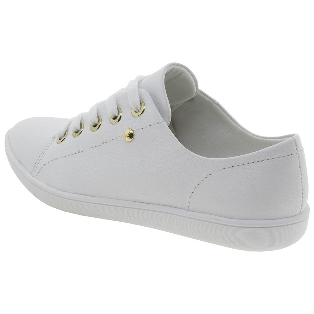 7180435b4a tênis feminino casual branco usaflex - v7911. Carregando zoom.
