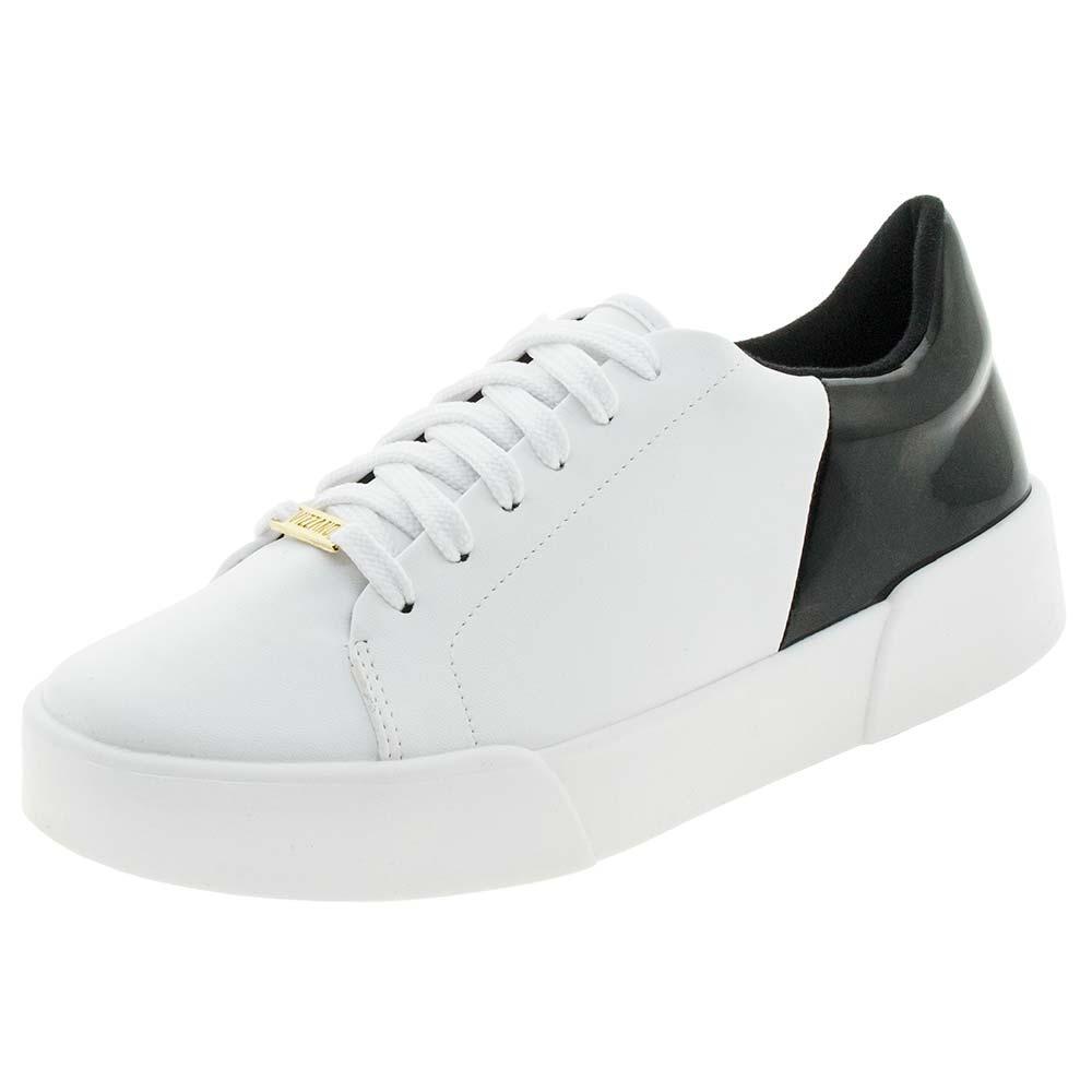 7e8a6d76c5 tênis feminino casual branco preto vizzano - 1299100. Carregando zoom.