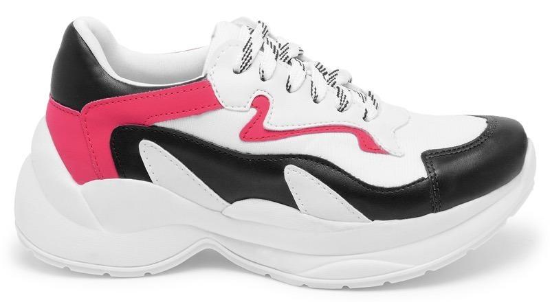 d851846b7b tênis feminino casual chunky recorte colorido confortável. Carregando zoom.