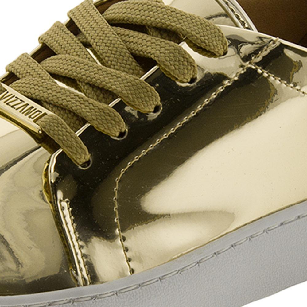 19d73e4722 tênis feminino casual dourado vizzano - 1214205. Carregando zoom.