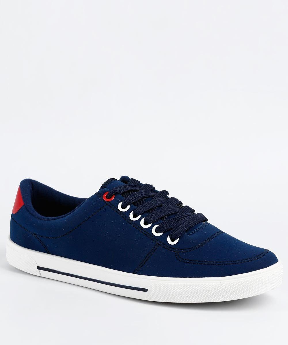 cf17df2913 tênis feminino casual jeans moleca azul - original. Carregando zoom.
