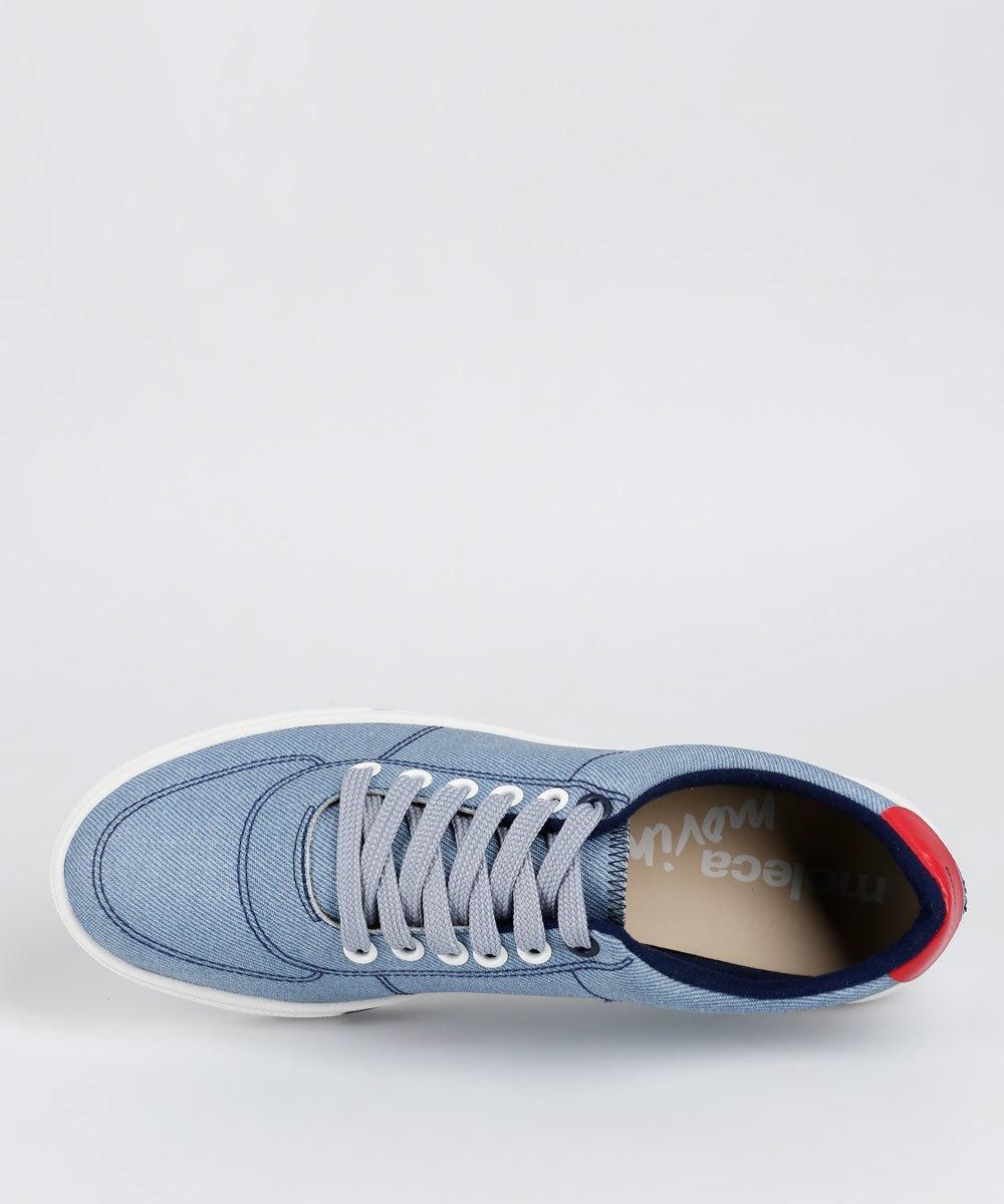 17b29adaad tênis feminino casual jeans moleca - original. Carregando zoom.