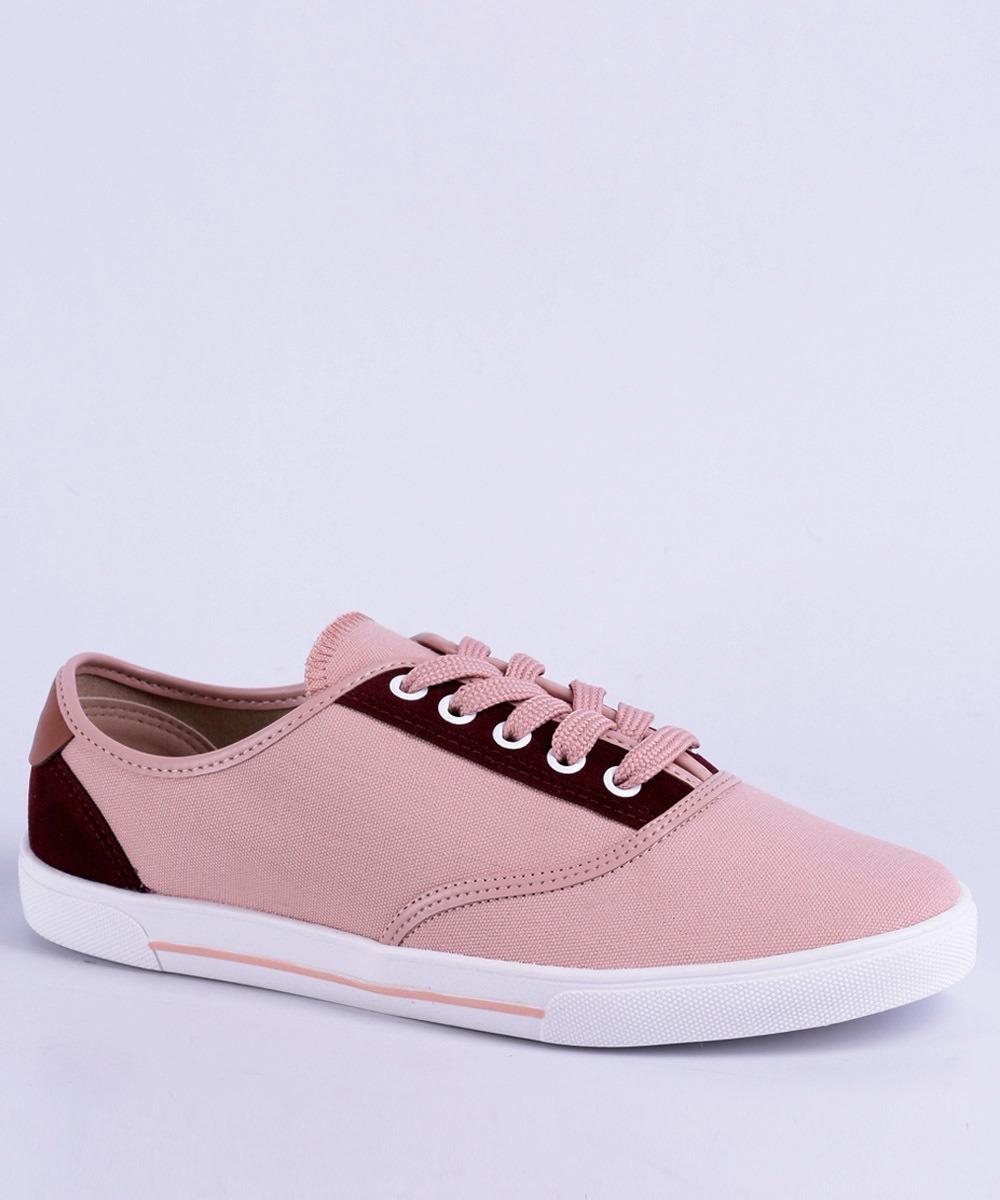 7758695456 tênis feminino casual jeans moleca rosa- original. Carregando zoom.