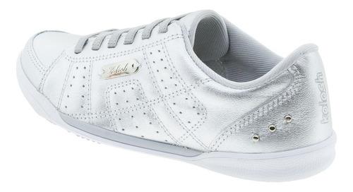 tênis feminino casual kolosh - c0364 prata