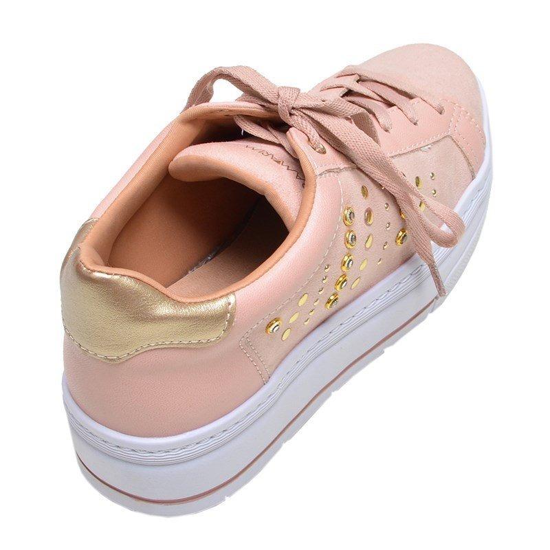 b11e798093c tênis feminino casual plus solado alto ramarim rosa. Carregando zoom.