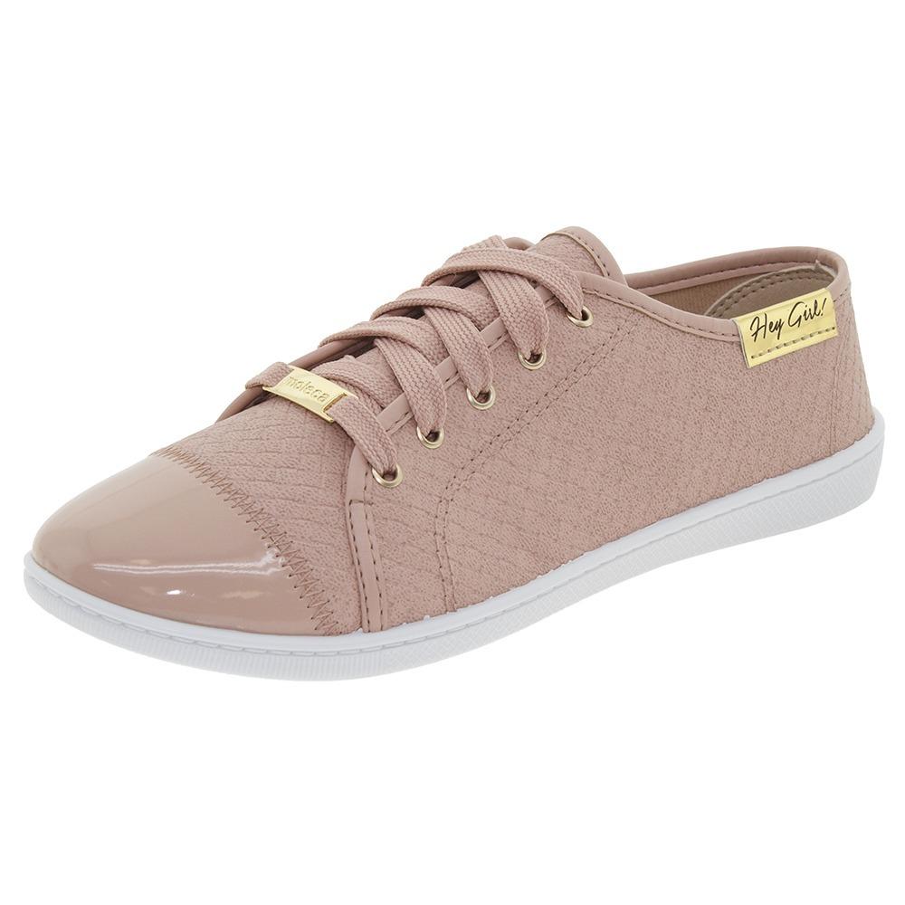 1bac7c2c282 tênis feminino casual rosa moleca - 5605112. Carregando zoom.