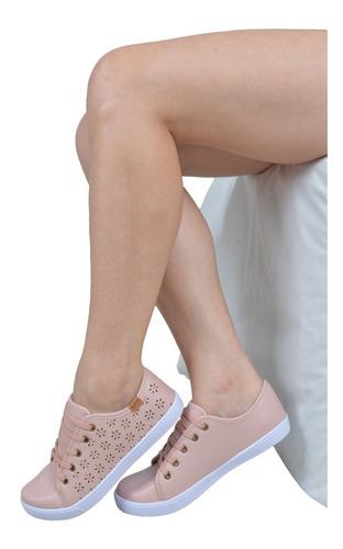 tênis feminino casual sapatilha sapatenis lançamento 387