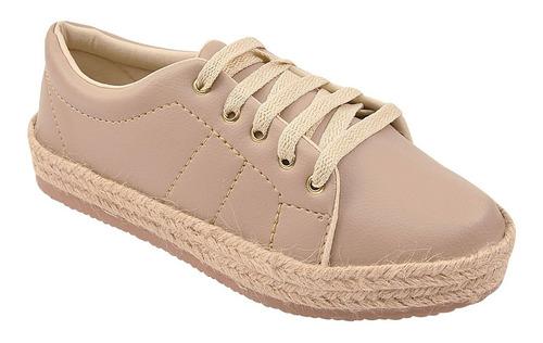 tênis feminino casual sapatênis original chiquiteira 60108