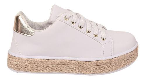 tênis feminino casual sapatênis original chiquiteira 60134