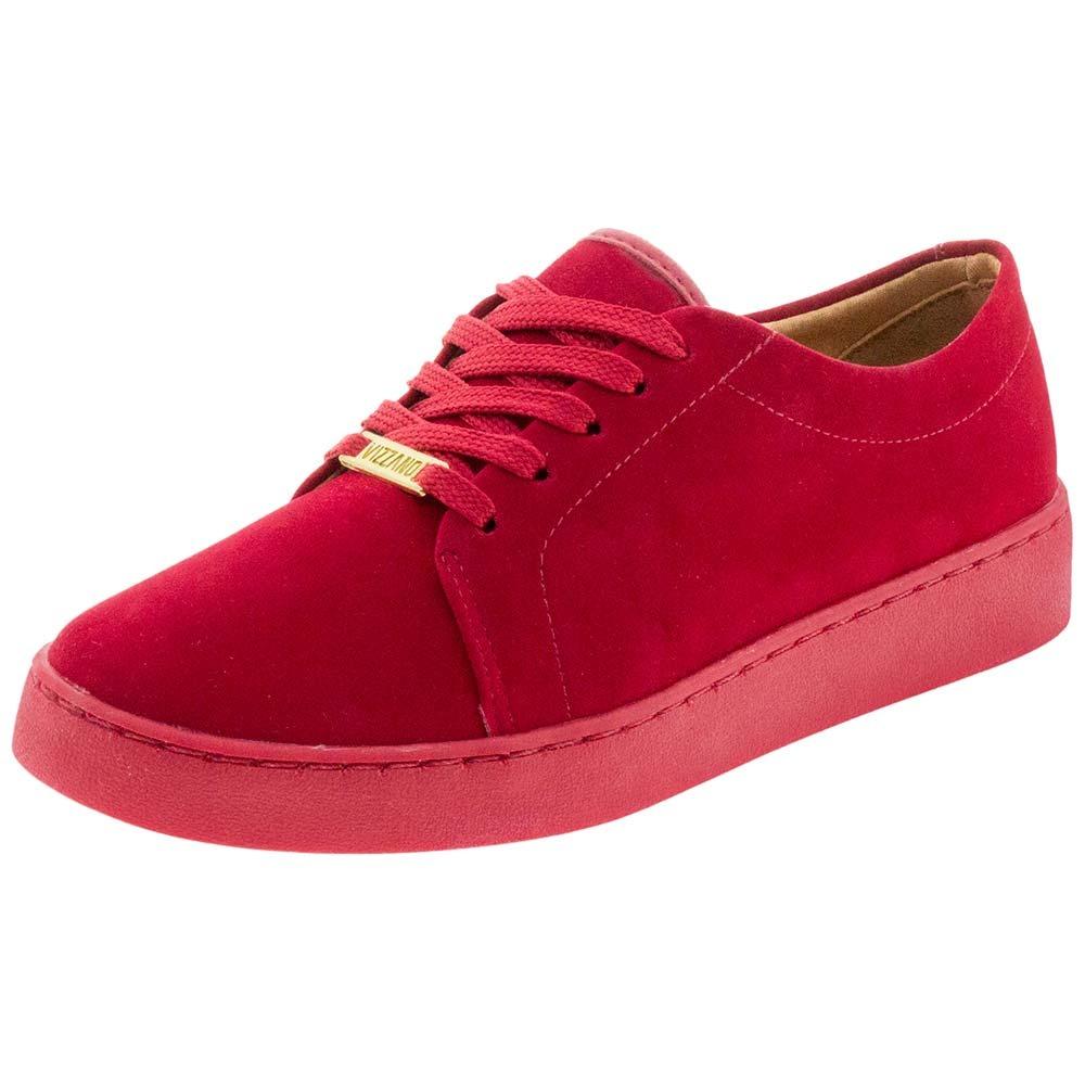 6988220e569 tênis feminino casual vermelho vizzano - 1214205. Carregando zoom.