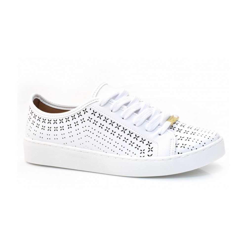 35ca7b710ba tênis feminino casual vizzano branco - 1214261. Carregando zoom.