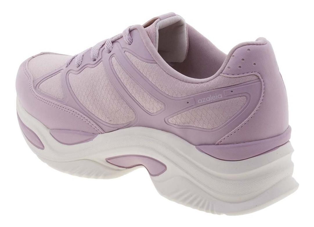 ca92132a3 tênis feminino chunky trainer lilás azaleia - 885/523. Carregando zoom.