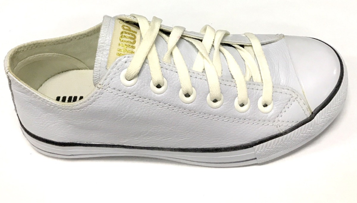 c642417149 tênis feminino couro whoop ramarim estilo all star branco. Carregando zoom.