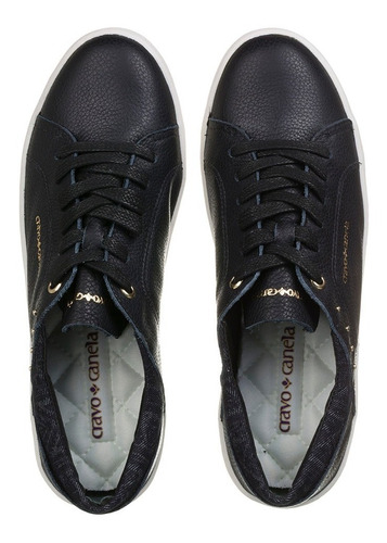tênis feminino cravo & canela  floater preto original