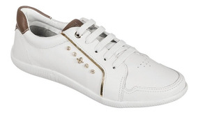 f426b0970 Tênis Feminino Cravo E Canela Branco - Tênis com o Melhores Preços ...