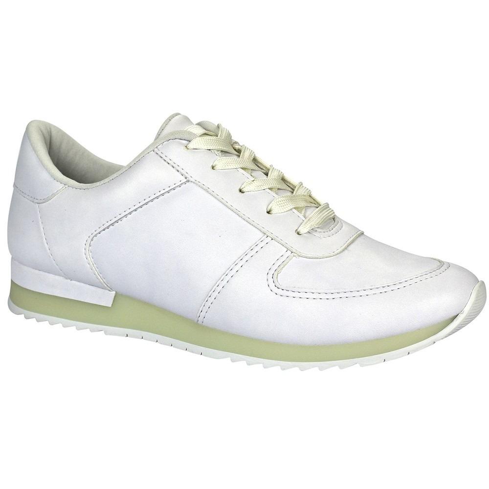 4c1aff4f19 tênis feminino dakota neon garland branco. Carregando zoom.