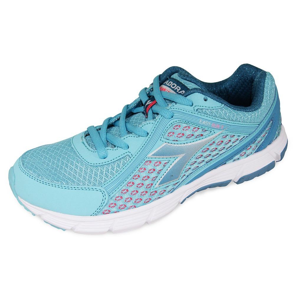 tênis feminino diadora easy run. Carregando zoom. 965d0525b2e33