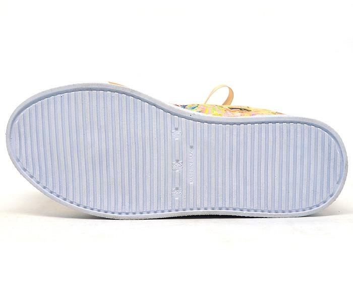 e9d6d0fafca Tênis Feminino Doma Shoes Plataforma Rosê Floral - R  89
