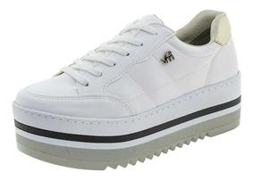 8f3949e80 Tenis Via Marte Branco E Dourado - Calçados, Roupas e Bolsas com o ...