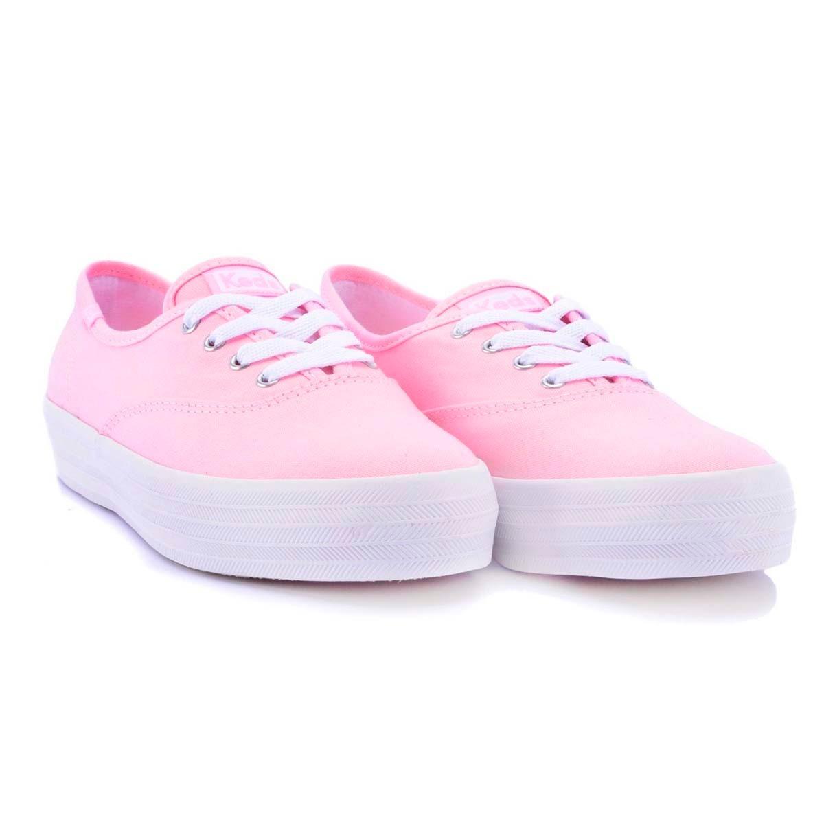 506224e40b tênis feminino keds blush rosa plataforma sola alta novo. Carregando zoom.
