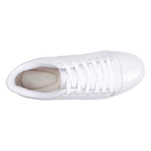 tênis feminino luma ventura 1044 branco/verniz
