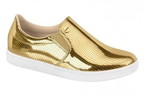 251510c51 Tênis Feminino Modare Dourado Frete Grátis - R$ 139,99 em Mercado Livre