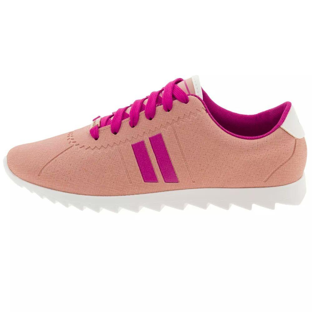 bab40c48af3 tênis feminino moleca casual rosa napa sport 5632100. Carregando zoom.