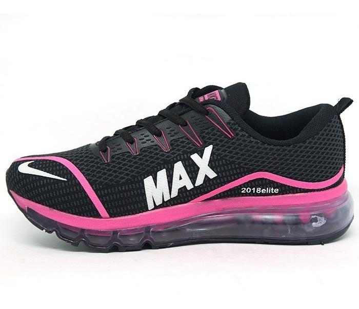 Mens Nike Air Max 2018 Elite KPU Royal Blue White Black Running Shoes NIKE ND000655