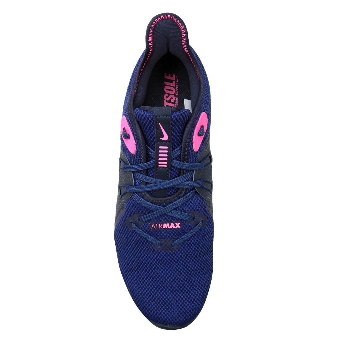 444f6f53567 tênis feminino nike air max sequent 3 azul e rosa. Carregando zoom.