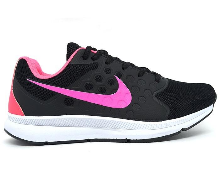 ada5ac9386 Tênis Feminino Nike Running Preto E Rosa Promoção Barato - R$ 229,90 ...