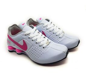 a99f44ee0ef Tênis Feminino Nike Shox (4 Molas) Classic Frete Grátis