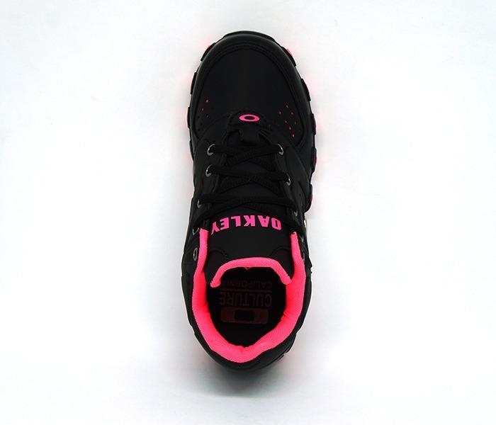 cc7ee3e979954 tênis feminino oakley teeth anchor preto e rosa · tênis feminino oakley
