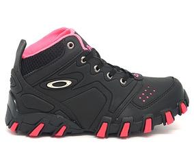 482a74b3f64 Tênis Oakley Feminino Rato E Rosa Cano Baixo - Tênis no Mercado ...