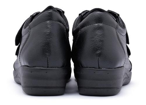 tênis feminino salto p/ esporão ortopédico diabético sapato