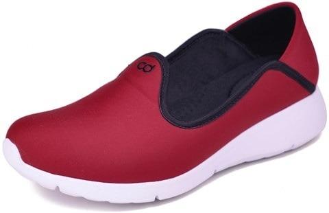 6edd5a605 Tênis Feminino Sapatilha Confortável Leve Sapatênis Vermelho - R ...