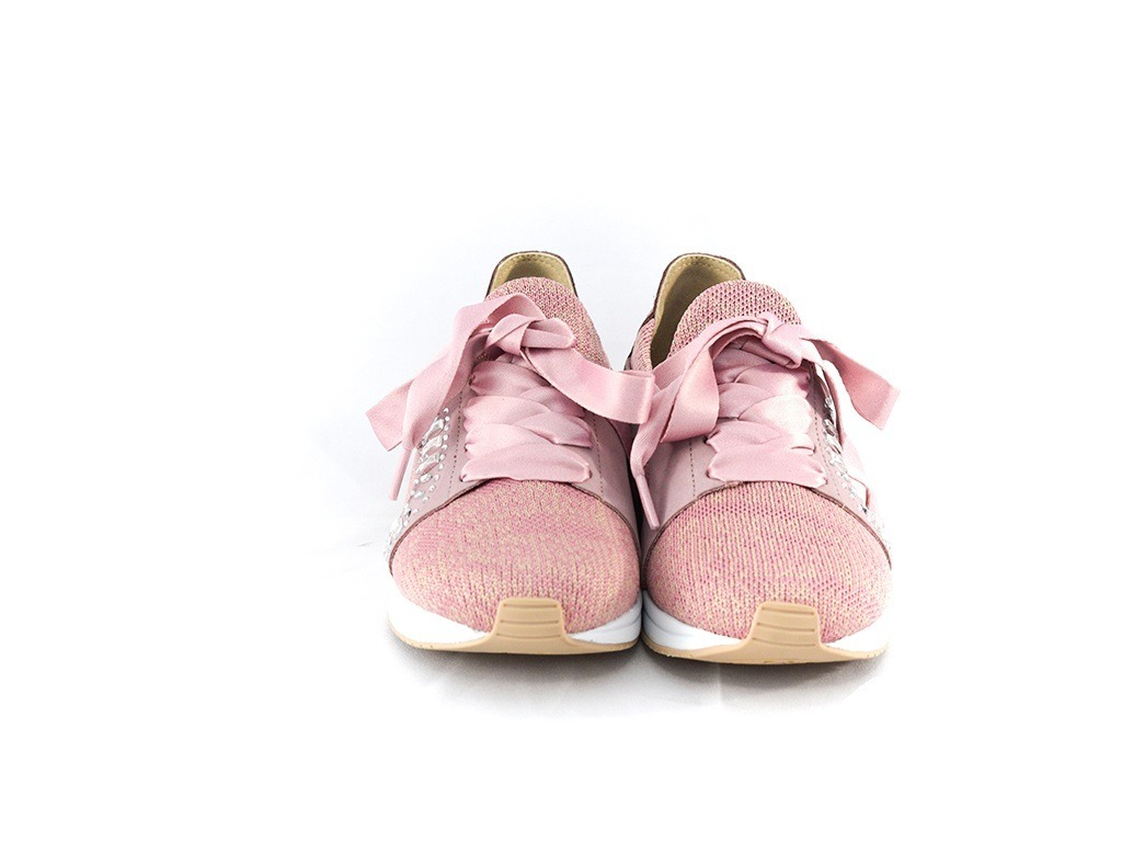 24e17b129 tênis feminino usaflex z2903/50 malha rosa 100% original. Carregando zoom.