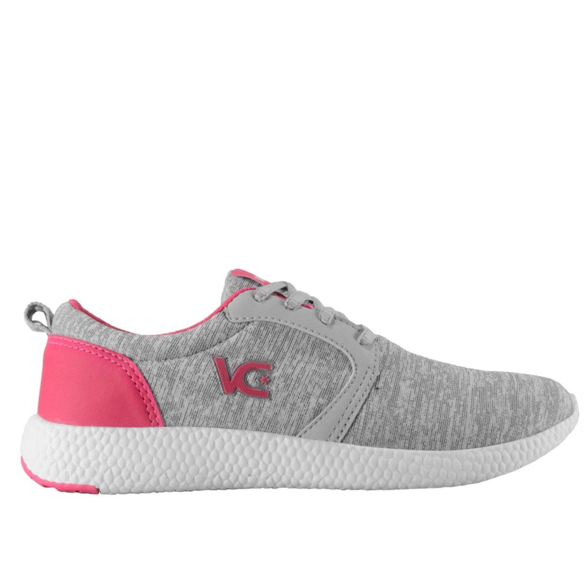 b24905c7af6 Tênis Feminino Vanscy Boost Cinza pink - R  120