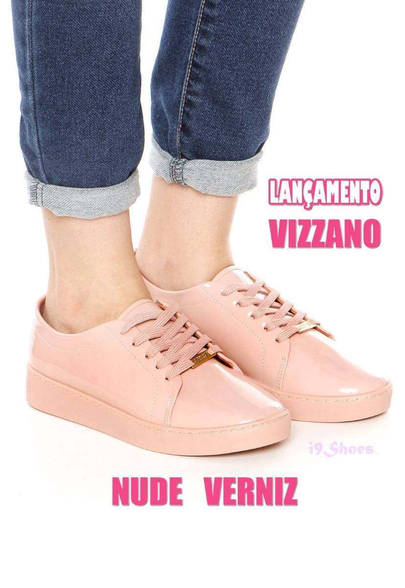 67045982f tênis feminino vizzano rosa nude verniz moda lançamento. Carregando zoom.