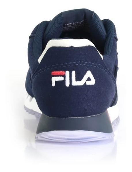 b187a64e74 Tênis Fila Classic 92 Marinho Jogging - Way Tenis