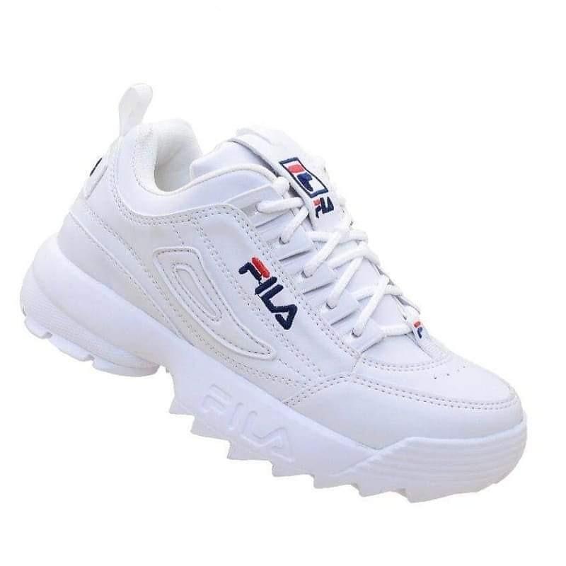 8fd88177 tênis fila disruptor branco/preto feminino numeração 26ao 43. Carregando  zoom.