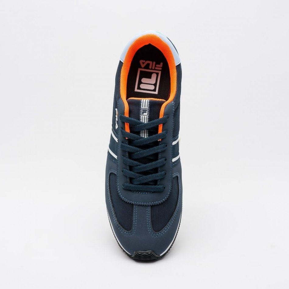 c3e38f781a8 tênis fila f-retro sport masculino - azul marinho. Carregando zoom.