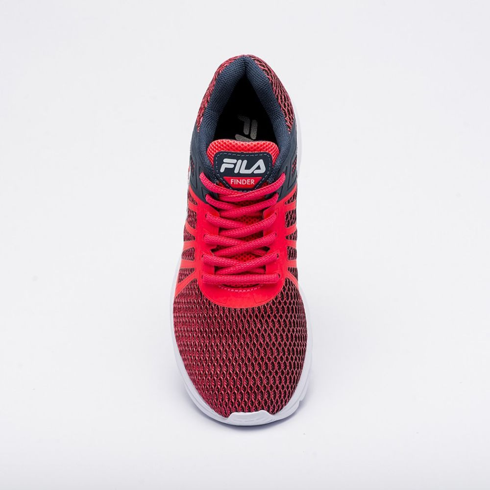 49fe245a9 Tênis Fila Finder - Feminino - Rosa/marinho - R$ 142,40 em Mercado Livre