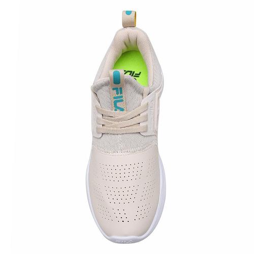 tênis fila flagtrainer feminino - branco e verde