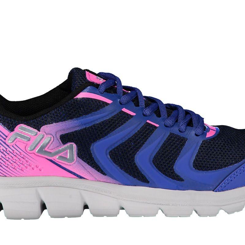 08c11a262b tênis fila powerfull 2.0 feminino azul e rosa. Carregando zoom.