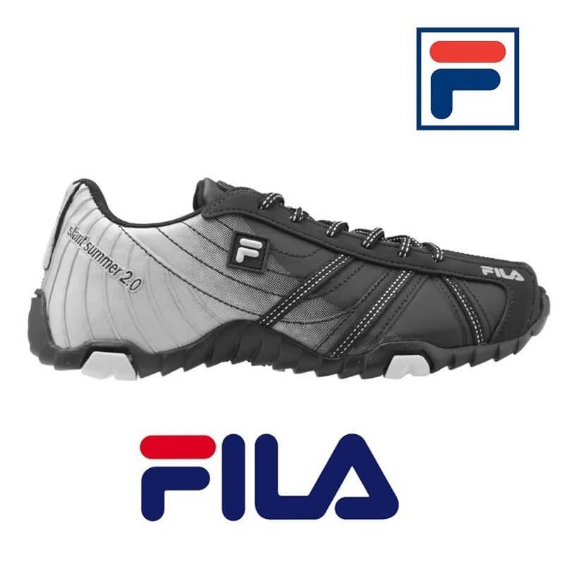 f3521c436ee tênis fila slant summer 2.0 masculino corrida trilha cinza. Carregando zoom.