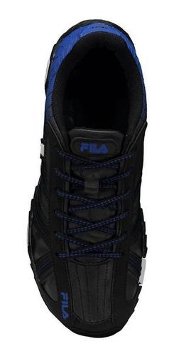 tênis fila slant summer 2.0 preto e azul