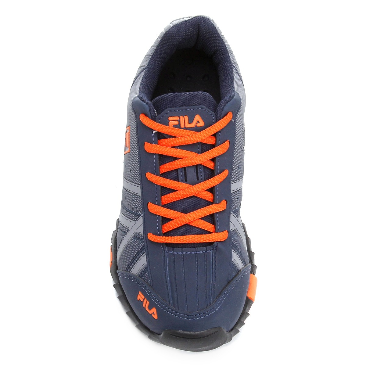 tênis fila slant summer azul laranja masculino infantil. Carregando zoom. 619e3a7c629